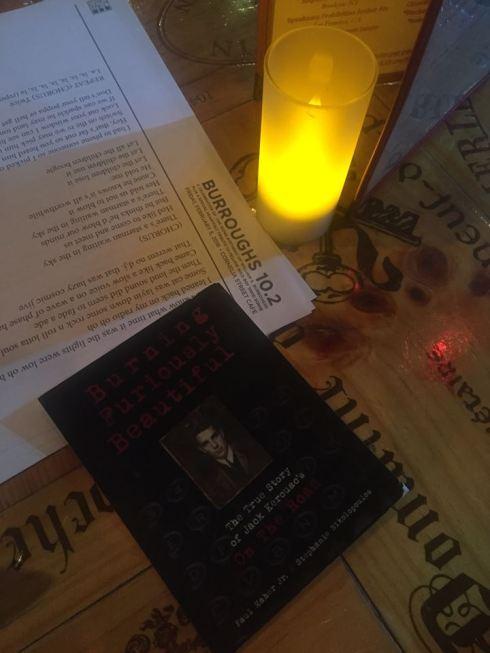 Burroughs Cornelia Street Cafe